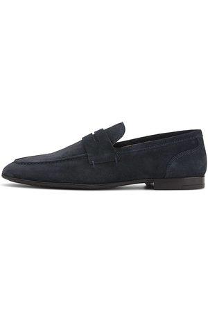 Belmondo Herren Halbschuhe - Penny-Loafer in dunkelblau, Slipper für Herren