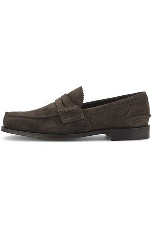 Church and Co. Herren Halbschuhe - Penny-Loafer Pembrey in dunkelbraun, Slipper für Herren