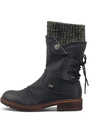 Rieker Winter-Stiefel in dunkelblau, Boots für Damen