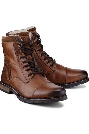 Cox Winter-Stiefel in dunkelbraun, Boots für Herren