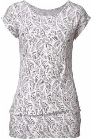 Lascana Shirt mit Feder-Print