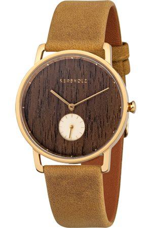 Kerbholz Armbanduhr ´Frida´
