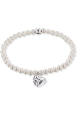 Engelsrufer Perlenarmband ´Herzflügel Charm, ERB-Heartwing-PE´