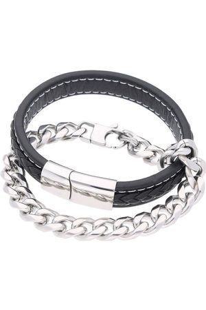 Firetti Armband Set ´Glanz, massiv, geflochten´