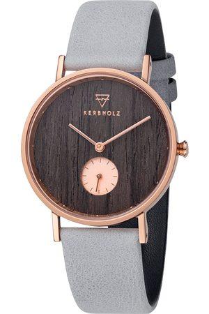Kerbholz Uhr 'Frida Darkwood Artic WATMFRI0135
