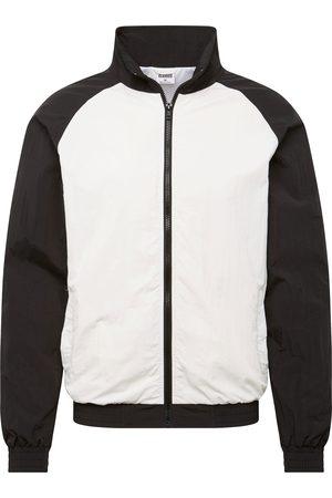 Urban classics Jacke 'Crinkle Contrast Raglan Track Jacket