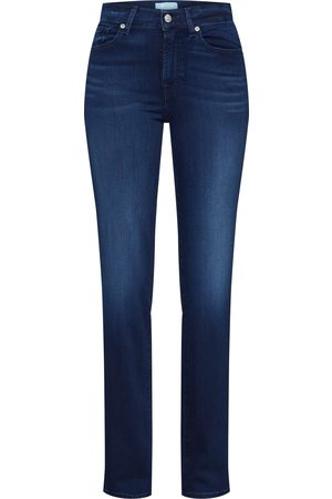 7 for all Mankind Damen Straight - Jeans 'THE STRAIGHT