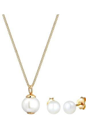 Elli Schmuckset Perle, Süßwasserzuchtperle