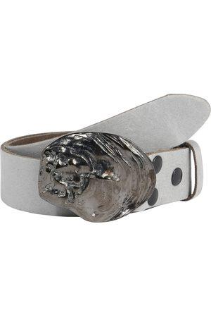 RETTUNGSRING By Showroom 019° Ledergürtel mit austauschbarer Austernmuschel-Schließe