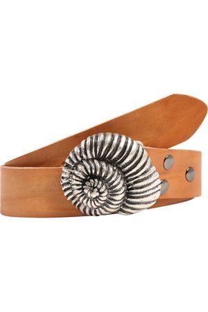 RETTUNGSRING By Showroom 019° Ledergürtel mit austauschbarer Schnecken-Schließe