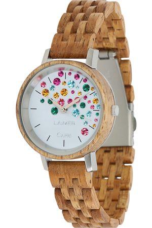 Laimer Damen Armbanduhr Holzuhr 'Capri