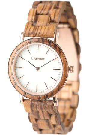 Laimer Damen Armbanduhr Holzuhr 'Leona
