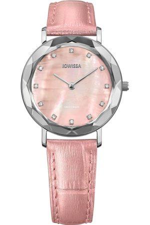 JOWISSA Damen Uhren - Quarzuhr 'Aura' Swiss Ladies Watch