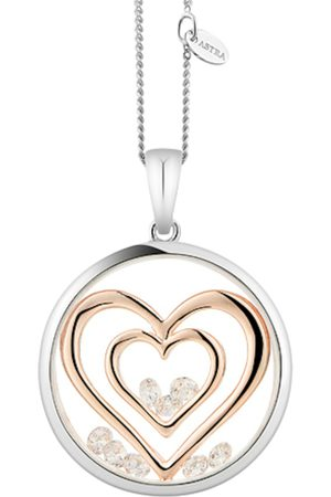 ASTRA Kette mit Anhänger 'DOUBLE HEART