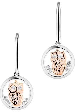 ASTRA Damen Ohrringe - Creole 'WISE OWL