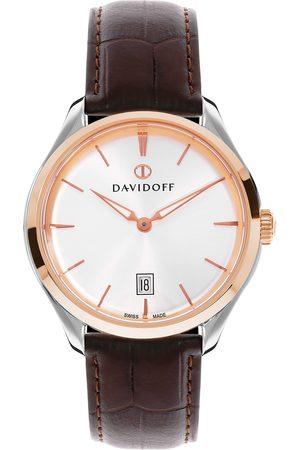 Davidoff Essentials No. 1 Quarzuhr Edelstahl