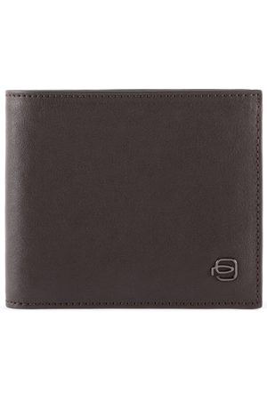 Piquadro Black Square Geldbörse Leder 11,5 cm