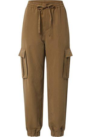 Urban classics Hose 'Ladies Viscose Twill Cargo Pants