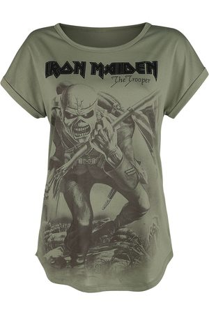 Iron Maiden Damen T-Shirts, Polos & Longsleeves - EMP Signature Collection T-Shirt oliv