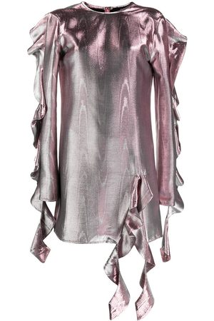 Ellery Damen Cocktailkleider - Kleid im Metallic-Look