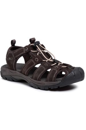 CMP Sahiph Leather Hiking Sandal 30Q9507 Espresso Q946