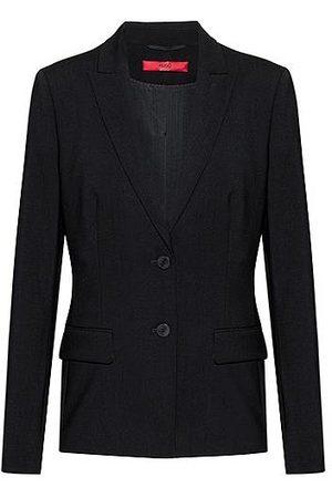 HUGO BOSS Regular-Fit Blazer aus Stretch-Schurwolle
