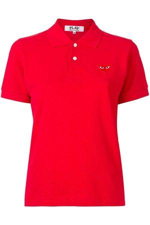Comme des Garçons Pikee-Poloshirt mit Logo