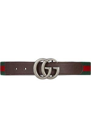 Gucci Elastischer Gürtel mit Webstreifen