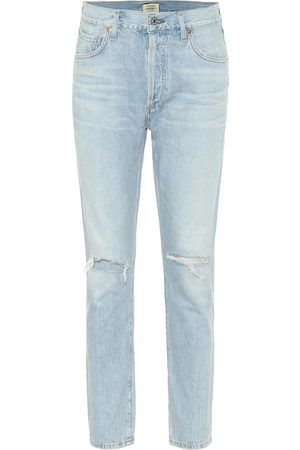 Citizens of Humanity High-Rise Slim Jeans Liya