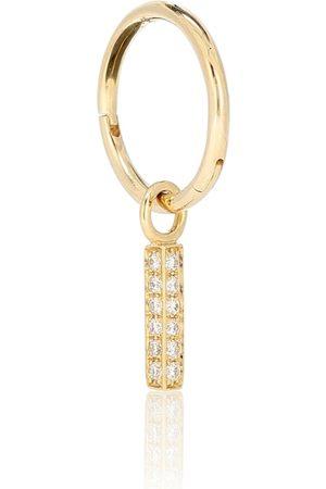 Maria Tash Creole aus 18 Karat Gelbgold mit Diamanten