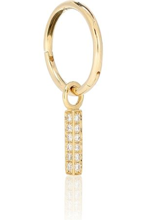 Maria Tash Creole aus 18kt Gelbgold mit Diamanten