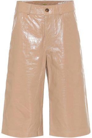 DODO BAR OR High-Rise Shorts aus Leder