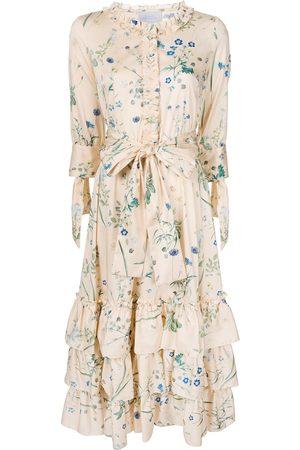 LUISA BECCARIA Kleid mit Blumen-Print