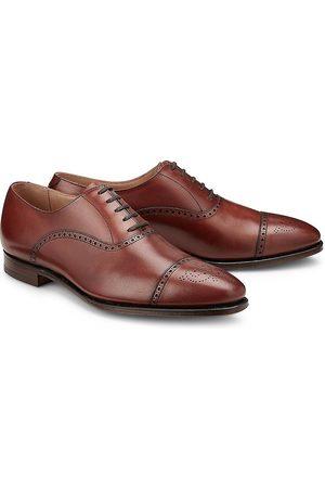 Crockett & Jones Herren Schnürschuhe - Schnürschuh Malton in mittelbraun, Business-Schuhe für Herren