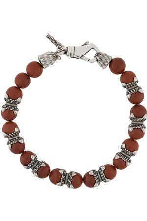 EMANUELE BICOCCHI Armband mit Jaspisperlen