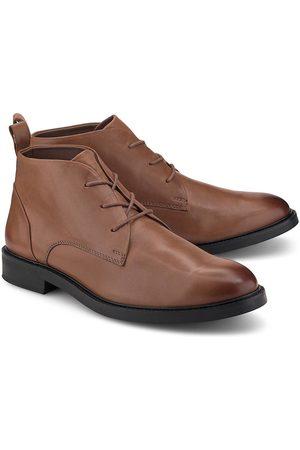 Cox Leder-Schnürer in mittelbraun, Business-Schuhe für Herren