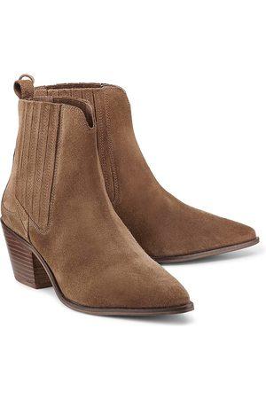 Another A Trend-Boots in mittelbraun, Stiefeletten für Damen