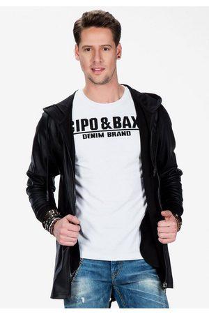 Cipo & Baxx Outdoorjacke in lässig-eleganter Optik