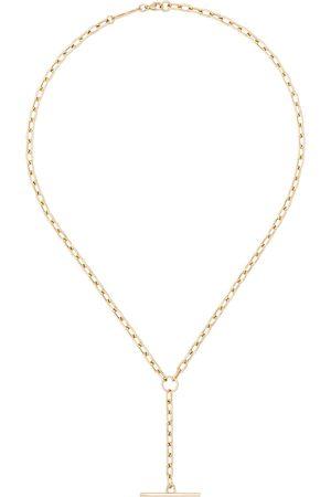 Zoe Chicco Damen Halsketten - 14kt Goldhalskette mit Stab