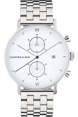 Kapten & Son Uhr 'Small Chrono Steel