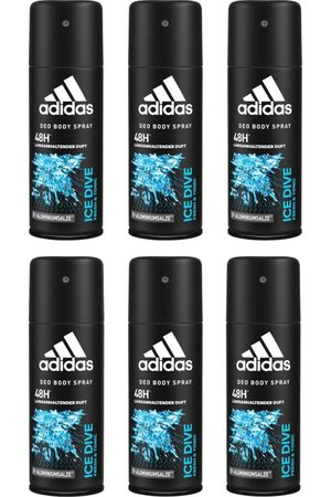 adidas Herren Parfüm - Deo-Spray 'Ice Dive