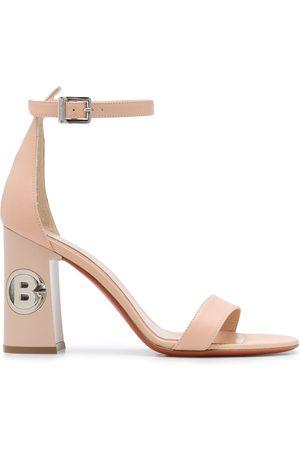 BALDININI Damen Sandalen - Sandalen mit Blockabsatz