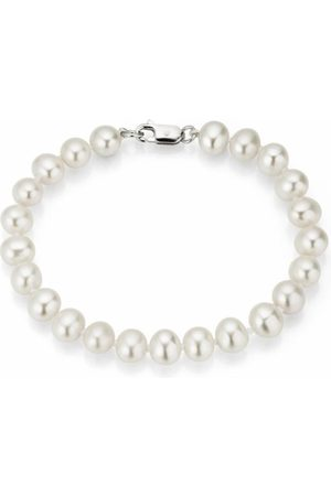 FIRETTI Damen Armbänder - Perlenarmband 'Rund, massive Verarbeitung