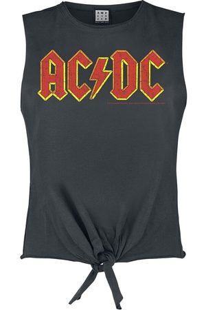 AC/DC Amplified Collection - Logo Top charcoal