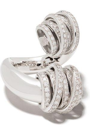 De Grisogono 18kt Weißgoldring mit Diamanten