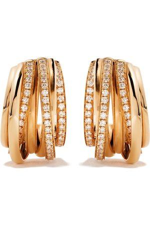 De Grisogono 18kt Rotgoldohrringe mit Diamanten