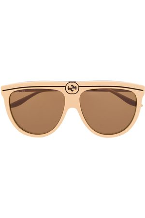 Gucci Klassische Pilotenbrille