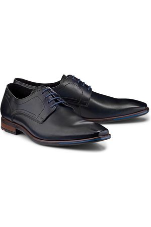 Lloyd Herren Elegante Schuhe - Business-Schnürer Don in dunkelblau, Business-Schuhe für Herren