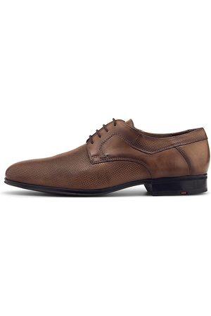 Lloyd Herren Elegante Schuhe - Business-Schnürer Levin in mittelbraun, Business-Schuhe für Herren