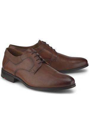 Lloyd Herren Elegante Schuhe - Derby-Schnürer Lador in mittelbraun, Business-Schuhe für Herren